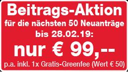 Angebot Flexigolf DGV-Mitgliedschaft 2016 ab 79 Euro
